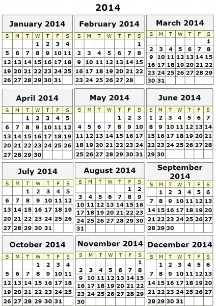 12 Best Photos Of 12 Month Calendar Print Out   Free Printable