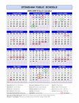 Blank 12 Month Calendar Printable