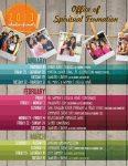 Calendar Of Events Flyer