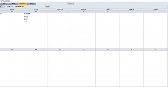 16 Best Photos Of Weekly Calendar Template Microsoft   Weekly