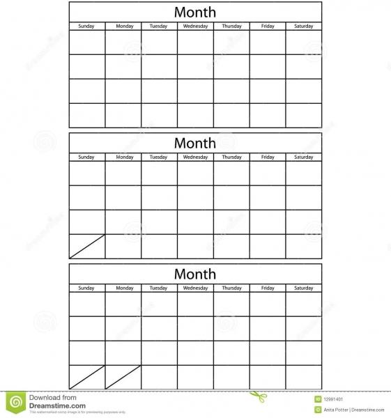 17 Best Photos Of 3 Month Calendar Template Word 2015   Printable