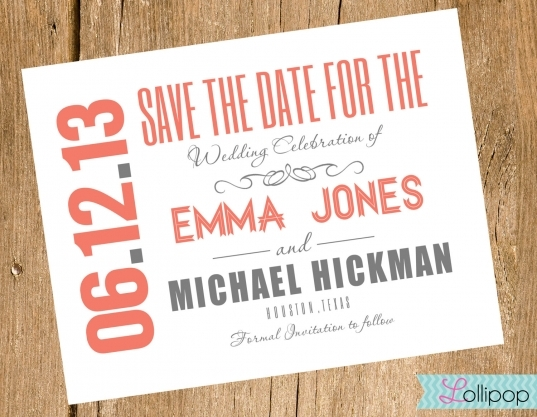 20 Best Photos Of Downloadable Save The Date   Free Printable Save