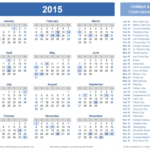 Vertex42 Calendars With Holidays