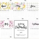Free Printable Calendars No Download