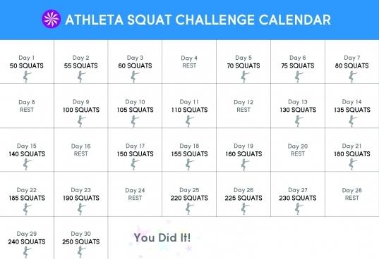 30 Day Squat Challenge | Chi Blog