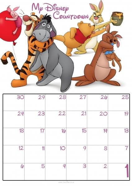 90 Day Countdown Calendar | Blank Calendar Design 2016
