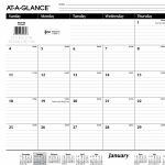 Printable Lined Monthly Calendar