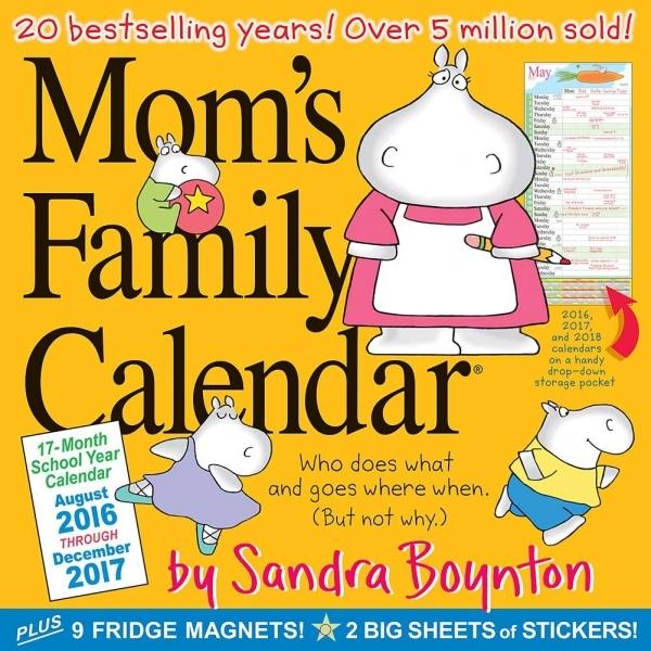 Boynton Mom's Family Wall Calendar: 9780761188391 | | Calendars