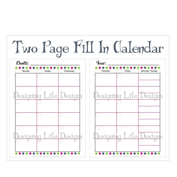 Calendar Printable Images Gallery Category Page 18   Printablee