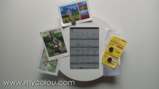 Calou   A Digital Wall Calendar   A Digital Family Calendar   Youtube