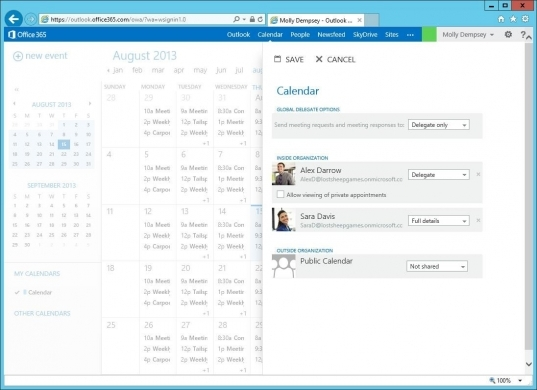 Configuring Delegate Access In Outlook Web App   Office Blogs