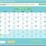 Sign Up Calendar Template