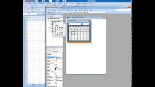 Date Picker In Microsoft Excel   Youtube