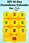 Vacation Countdown Calendar For Kids