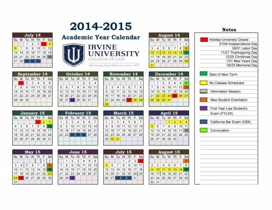 Fordham University Academic Calendar | Calendar Hits