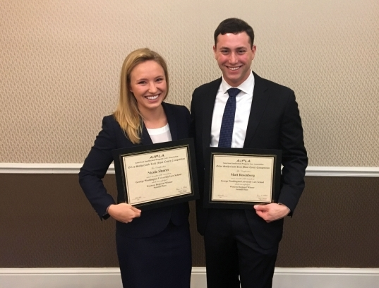 Gw Law Students Shine In Advocacy Competitions | Gw Law | The