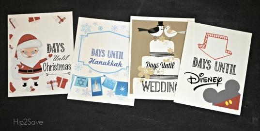 Homemade Christmas Countdown (free Printables For Christmas