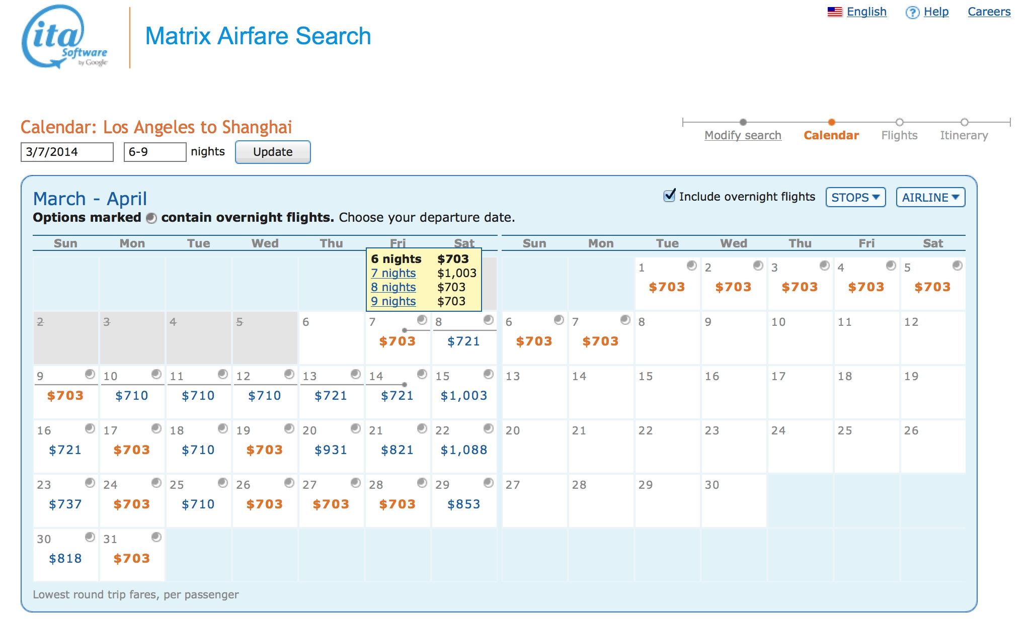 How To Use Ita Matrix To Find The Cheapest Flights   Mightytravels