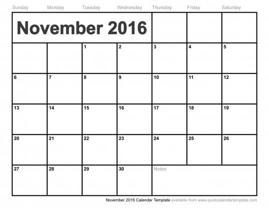 June 2016 Calendar Vertex42