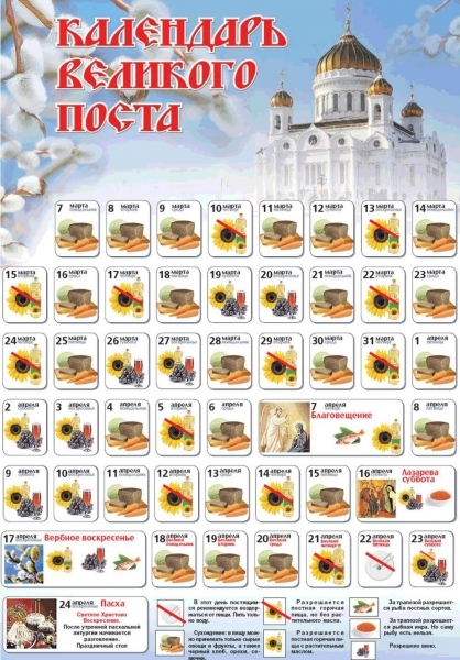 Lenten Food | Voices From Russia