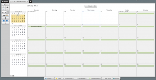 Make A 2016 Calendar In Excel (includes Free Template)