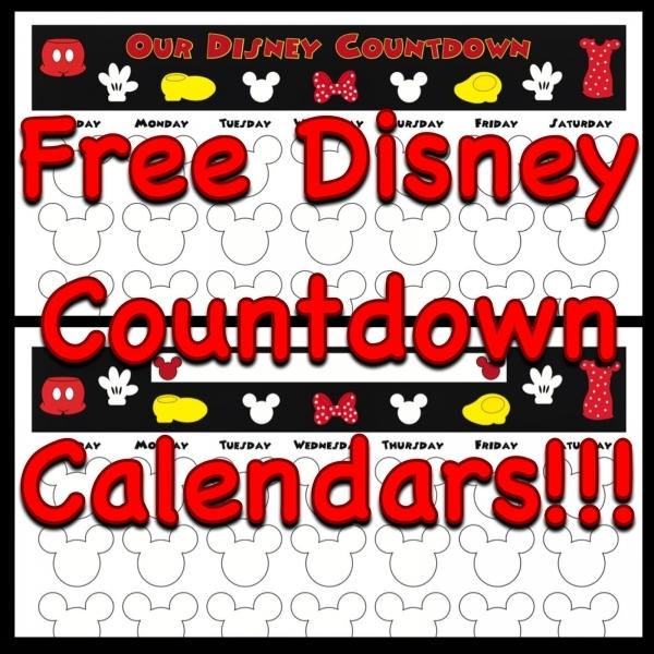 My Disney Life: Countdown Calendars