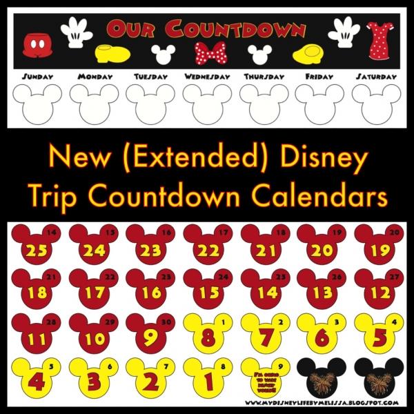 My Disney Life: New Countdown Calendar