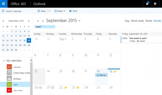 O365 Calendar Free/busy Cannot View In Outlook 2011/2016 For Mac