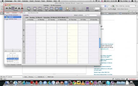 Osx   Office 2008 Mac Calendar Wizard   Super User