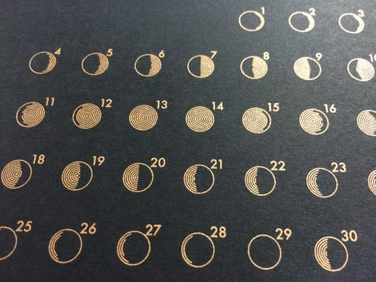 Popular Items For Moon Phase Calendar On Etsy