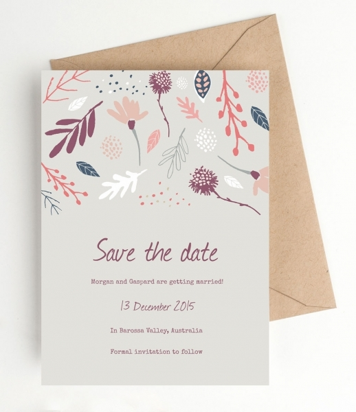 Printable Save The Dates Archives   Clementine Creative | Diy