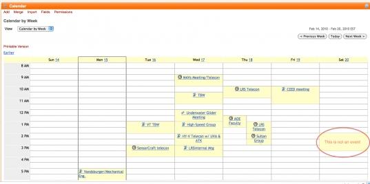 Sak 18034] Calendar Tool Creates Schedule Artifacts For Time Slots