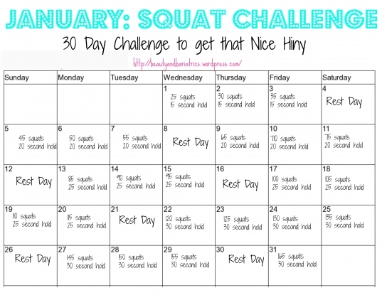 Squat Challenge | Beauty And Bariatrics