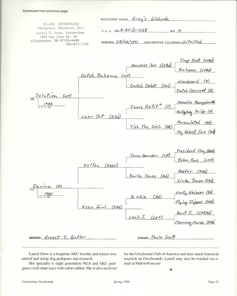 The Why And How Of Pedigrees And How To Read A Pedigree Chart