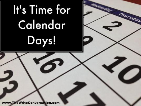 The Write Conversation : Calendar Days—may's Crazy Holidays