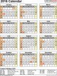 Calendar Wizard Free Templates