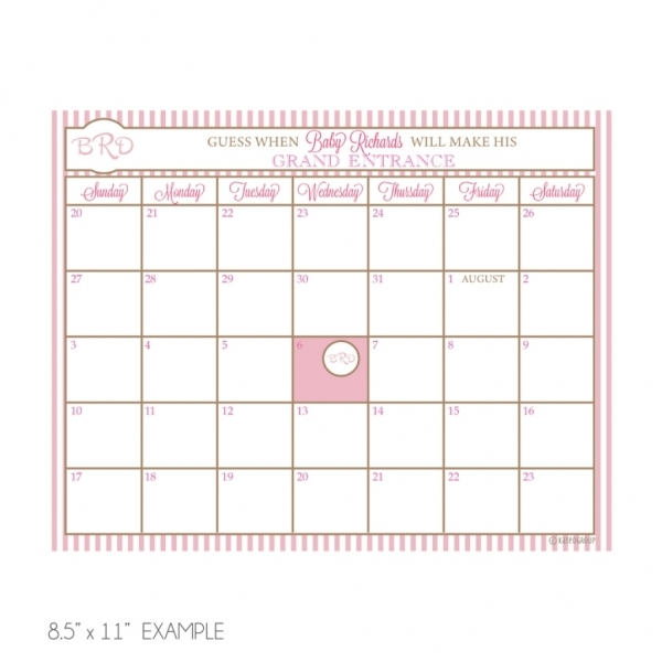 Ba Due Date Calendar Template | New Calendar 2016