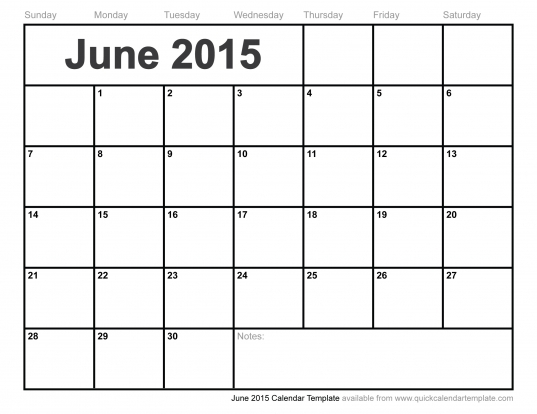 Free Printable Calendar Templates | Deathforce