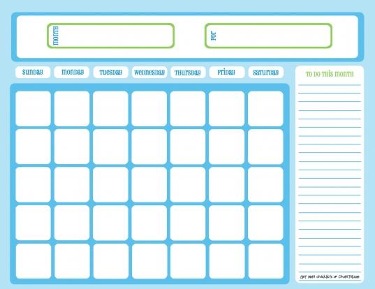 Full Calendar Month