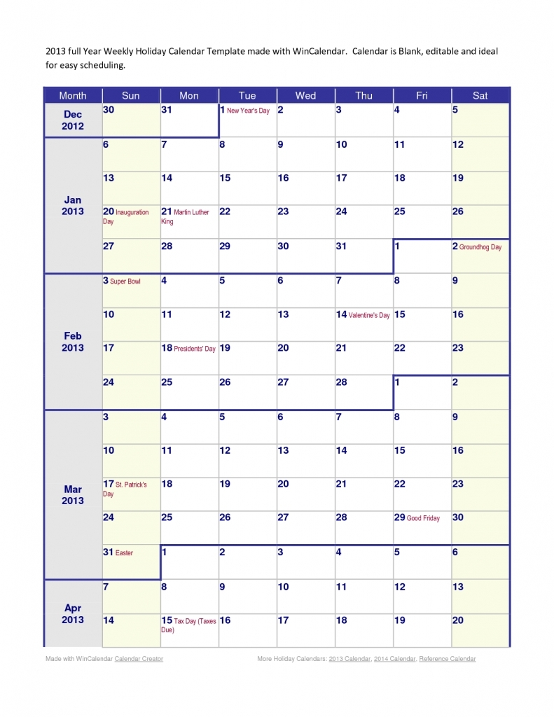 We 4 Month Calendar Printable | :::calendar Template 2016:::