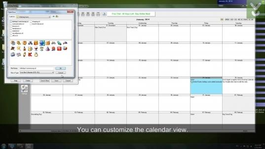 Active Desktop Calendar   Set A Customizable Calendar As Your