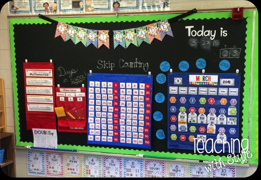 Calendar And Math Centers   Teaching With Style!