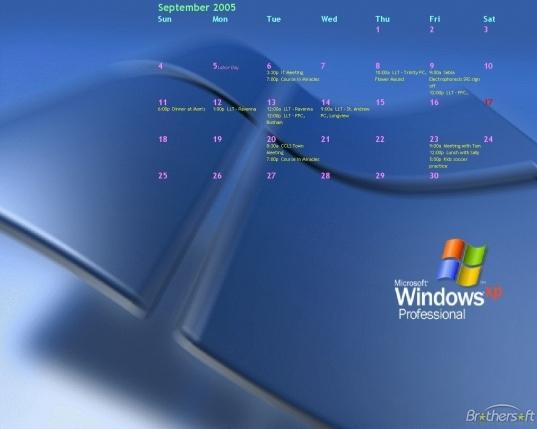 Free Downloadable Desktop Calendar — Crafthubs