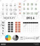 Photo Of Roman Numerical Calendar