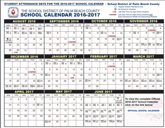 Pbc School Starts Aug. 15, Earliest In A Decade; Here's Your
