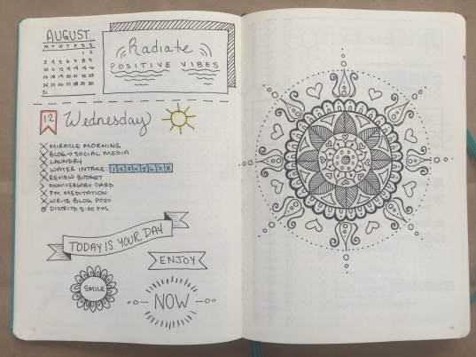 Bullet Journal: One Month Update | Boho Berry