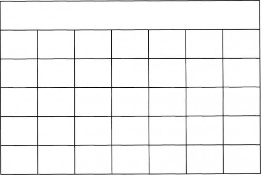 Blank 5 Day Calendar Template – Imvcorp