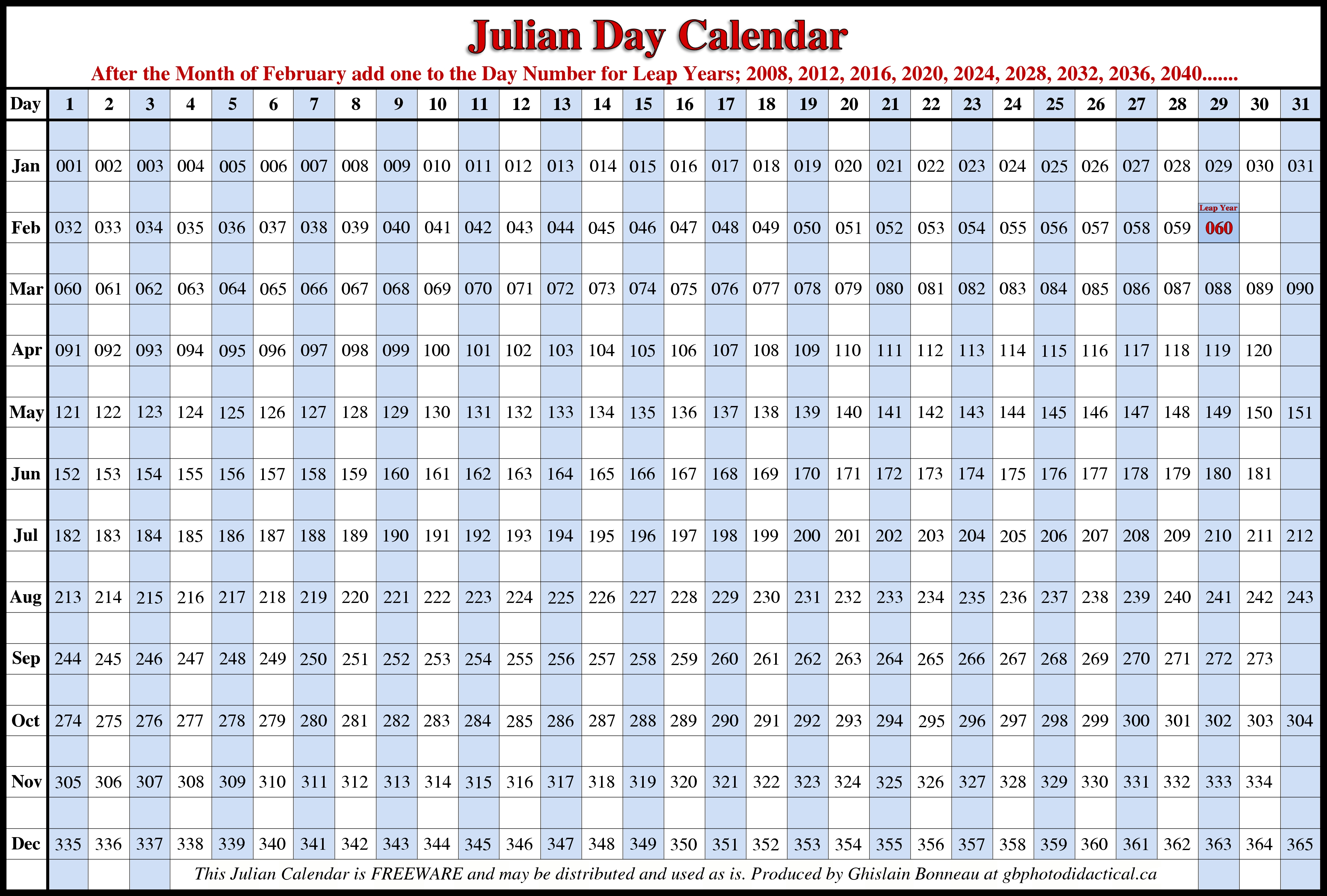 Julian Calendar | 2018 Calendar With Holidays