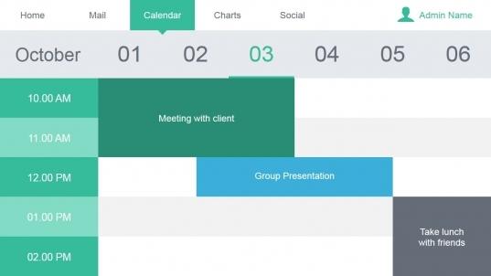 Admin Dashboard Powerpoint Template   Slidemodel