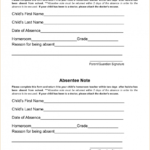 Free Editable Doctors Note Template